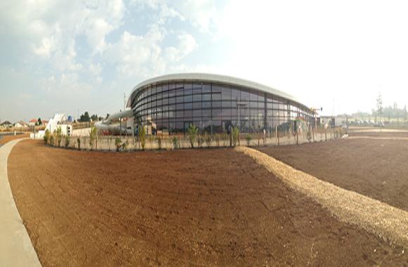 Construction d'un centre aquatique intercommunal à Thouars (79)