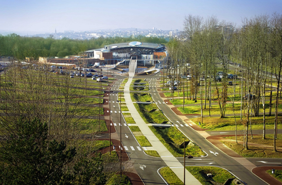 Construction d'un centre aquatique pour la Communauté d'Agglomération de Limoges Métropole (87)