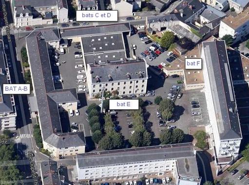 Réhabilitation de l'Hôtel de Police d'Angers (49)