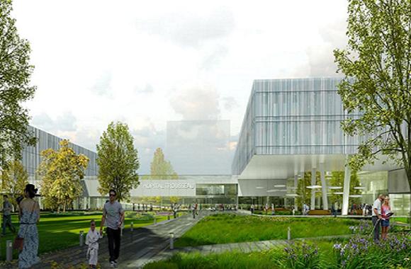 Construction du nouvel hôpital Trousseau à Tours – NHT (37)