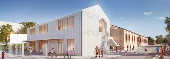 Restructuration de l'école élémentaire Marcelin Berthelot à Mérignac (33)