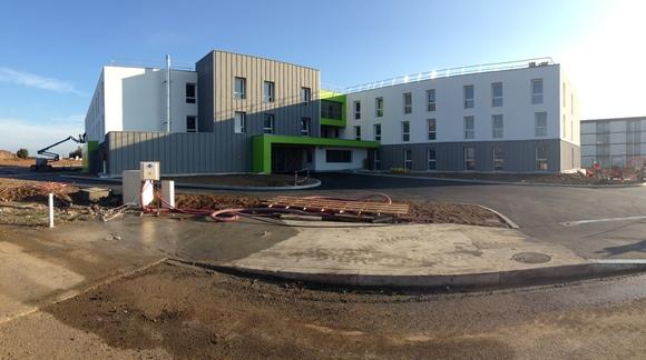 Réaménagement de l'école des Douanes de La Rochelle (17)