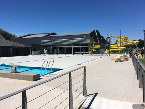 Réhabilitation et Extension du centre aqua-récréatif en éco-piscine à Objat (19)