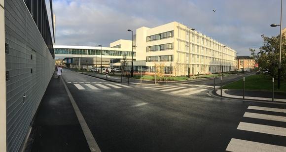 Réaménagement et Construction de 2 bâtiments au Centre Hospitalier du Mans (72)