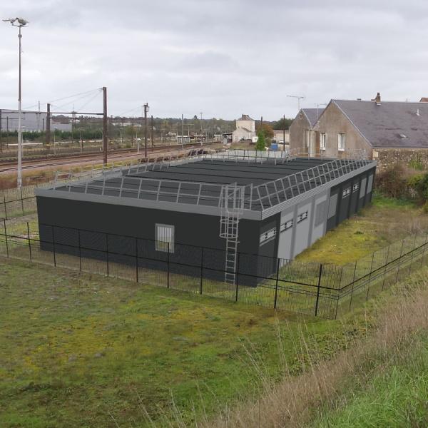 CONSTRUCTION D'UN BATIMENT MODULAIRE POUR DES LOCAUX SOCIAUX A RUFFEC (17) – SNCF