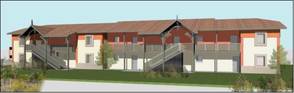 Construction d'un ensemble de 43 logements – ZAC Les Terres Vives à Mios (33)